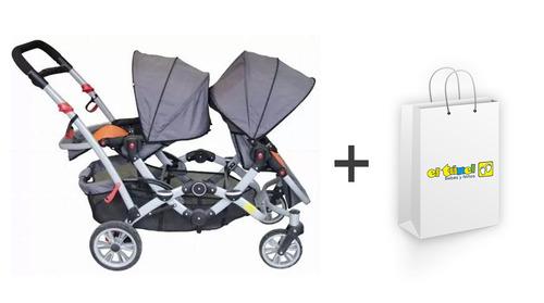 Coche Para Mellizos Dúo Ride Infanti - Bebés Y Niños