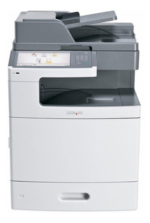 Impresora Multifuncion Laser Color Lexmark X792 Red Tactil