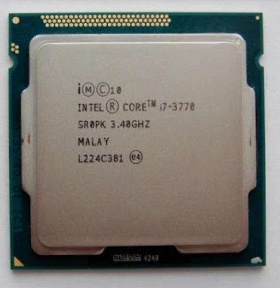 Processador Intel I7 3770 3.4 Ghz Confira!