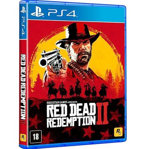 Red Dead Redemption 2 + Mapa - Ps4 - Mídia Física