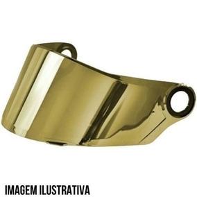 Viseira Ls2 Ff358/396 Iridium Gold Espelhada Original
