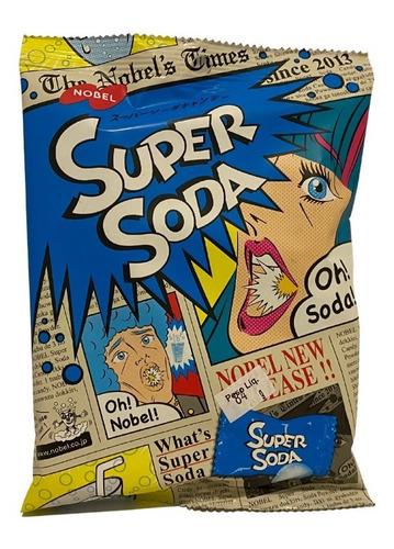 Imagem 1 de 1 de Bala Super Soda Candy Nobel Importado Japão