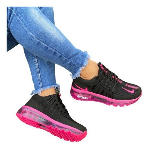 Zapato Dama Nike Deportivos. Moda Colombiana Mayor Y Detal