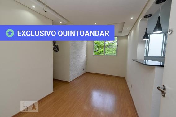 Apartamento No 8º Andar Com 2 Dormitórios E 1 Garagem - Id: 892973639 - 273639