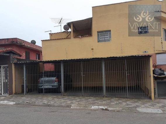 Apartamento Com 2 Dormitórios Para Alugar Por R$ 850,00/mês - Parque Santa Rosa - Suzano/sp - Ap0110