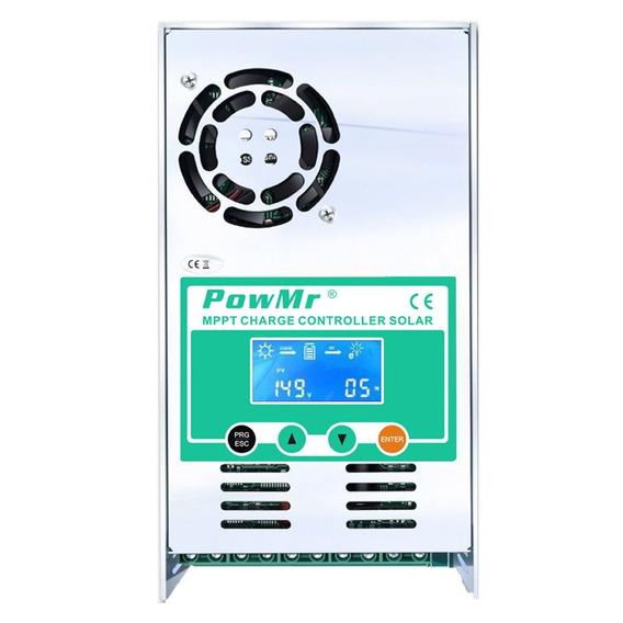 Controlador De Carga Energia Solar Mppt 60a 12v/24v/36v/48v