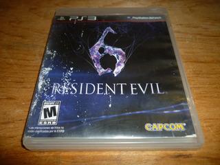 Resident Evil 6 Para Ps3 Playstation 3