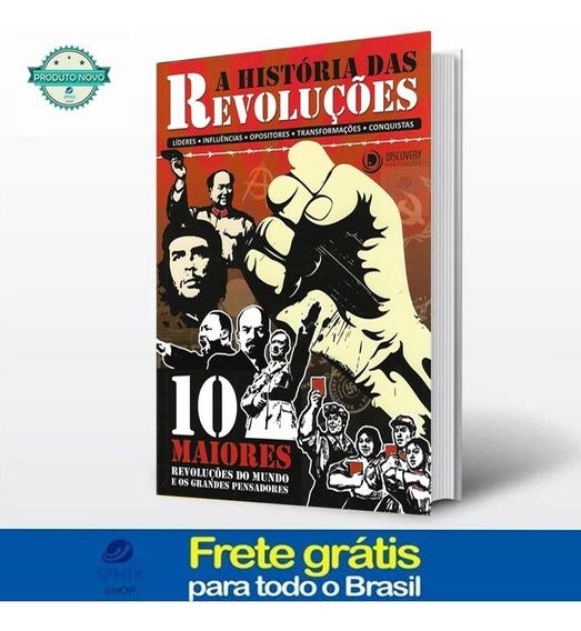 Livro A História Das Revoluções Frete Gratis