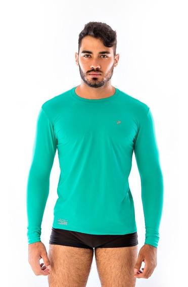 Blusa Masculina Para Vôlei Térmicas Proteção Uv