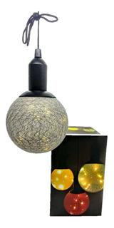 Luz De Navidad Esfera Lampara A Pila Para Colgar Decorativa