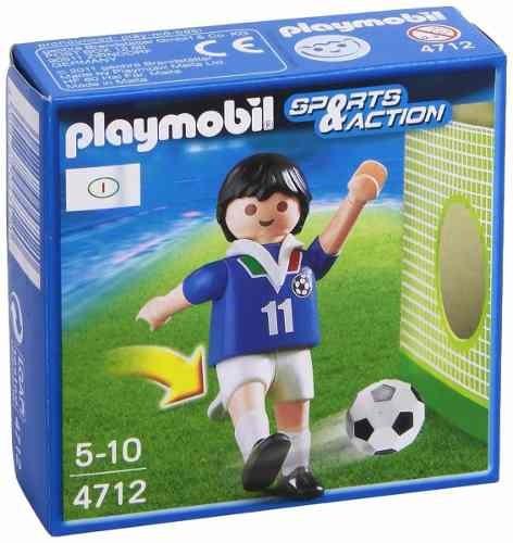 Figura Playmobil Esporte E Ação Action Jogador Itália 4712