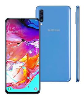 Celular Samsung Galaxy A70 Dual 128gb 6gb Ram A705 Azul