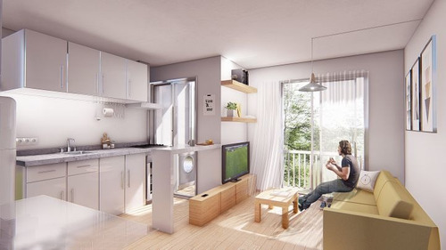 Venta Apartamento De 1 Dormitorio En Cordón Parque Chaná Ii
