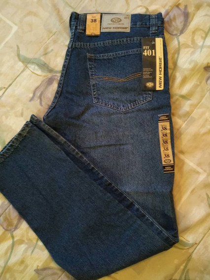 Pantalon Jean New Horse Mod 401 Talla 38 Nuevo