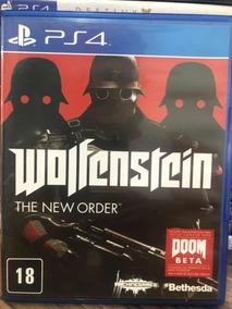 Jogo Wolfenstein The New Order Ps4 Semi Novo