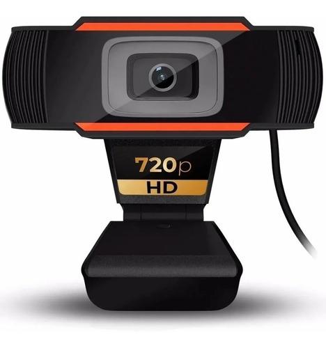Imagen 1 de 5 de Camara Webcam Hd72p Con Microfono Pc Usb Streaming Zoom