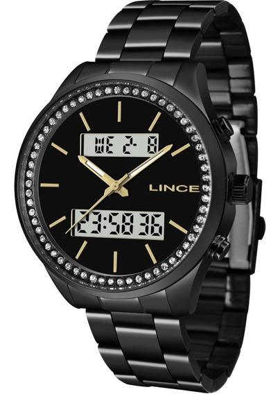Relógio Lince Feminino Original Garantia Nota Lan4591lp1px
