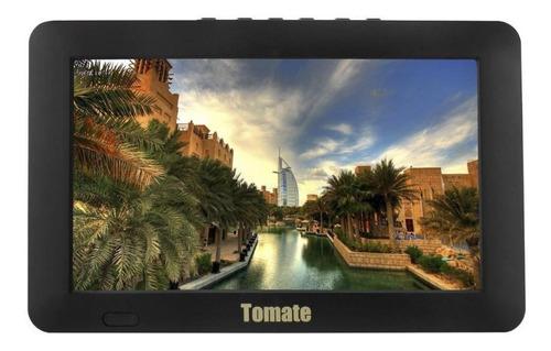 "TV portátil Tomate MTM-909 LED HD 9"" 110V/220V"