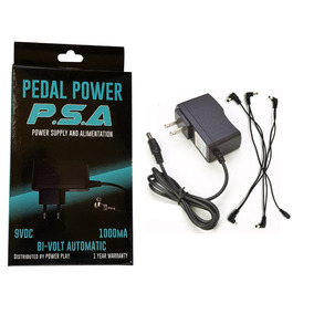 Fonte Para 5 Pedais Psa Power 5 1000 Ma Bi Volt Automática