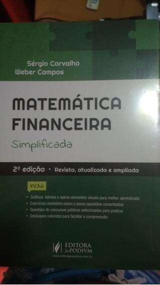 Matemática Financeira Simplificada - Sérgio Carvalho
