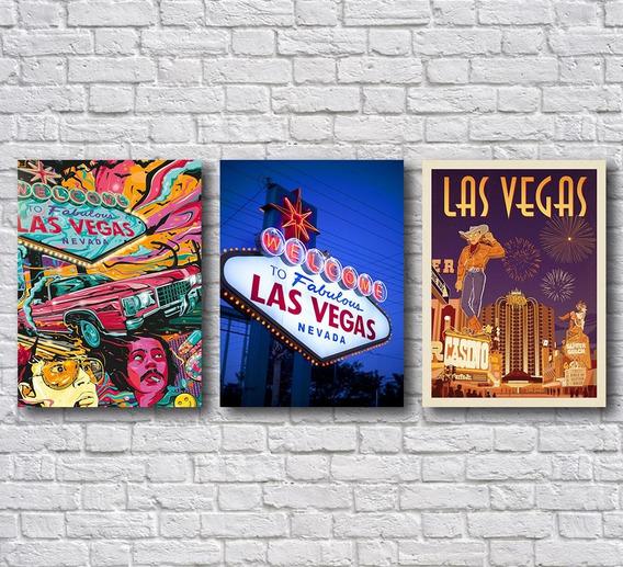 Placas Decorativas Las Vegas Decoração Para Casa Mdf