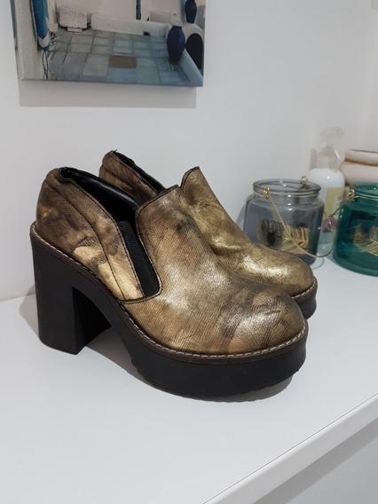 Zapato Botineta Mujer Talle 36