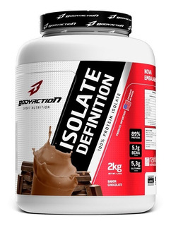 Whey Isolate Definition 2kg - Body Action - 100% Isolado