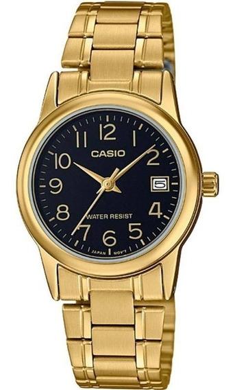Relógio Casio Collection Feminino Ltp-v002g-1budf