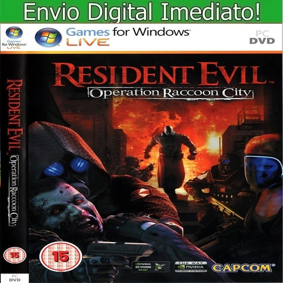 Resident Evil Operation Raccoon City Pc Hd Pt Br Envio Imed.