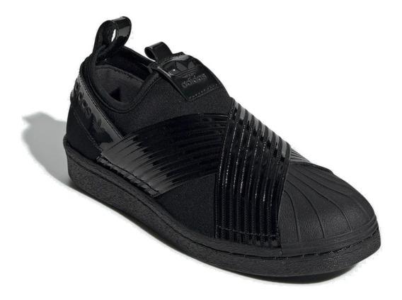 Tênis adidas Slip On Superstar All Black