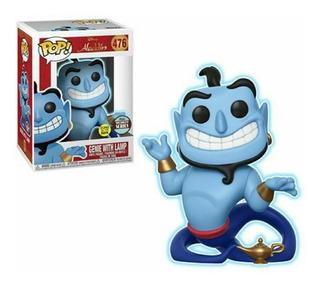Funko Pop Genie With Lamp Genio Aladdin 476 Gitd