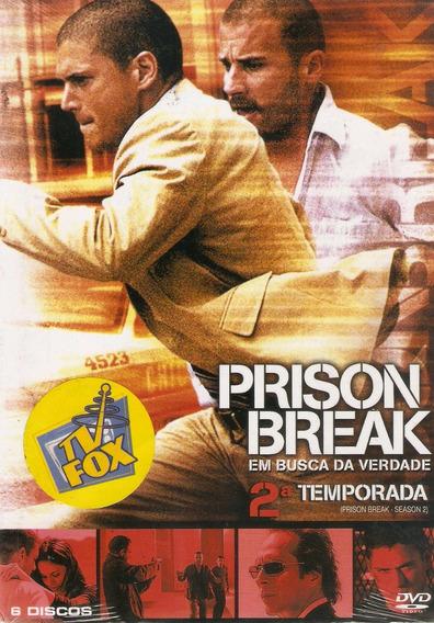 Box Prison Break - Em Busca Da Liberdade - 2° Temporada