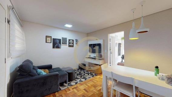 Apartamento Com 1 Dormitório À Venda, 43 M² Por R$ 425.000,00 - Bela Vista - São Paulo/sp - Ap18495