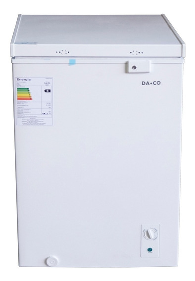 Freezer Congelador Damasco 100lts Dcfa10 Blanco Horizontal