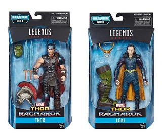 Marvel Legends Thor Ragnarok Figura Loki & Thor 6 Pulgadas