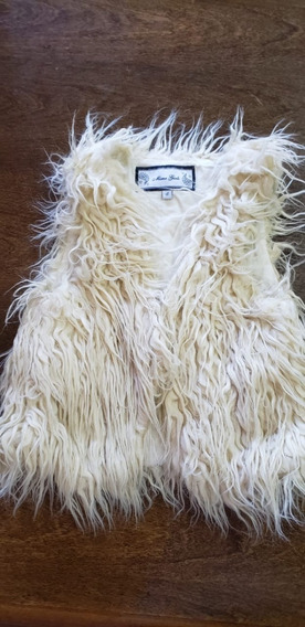 Chaleco Peludo Mimo Talle 8 Impecable