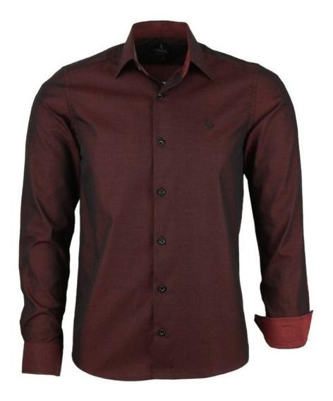 Camisa Estilo Dual Color Casual Frete Gratis