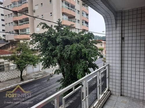 Imagem 1 de 10 de Apartamento Com 2 Dormitórios À Venda, 64 M² Por R$ 200.000,00 - Canto Do Forte - Praia Grande/sp - Ap2500
