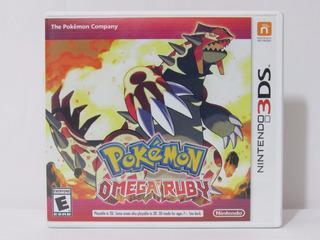 Pokemon Omega Ruby 3ds ¡usado! En Tecno-gaming