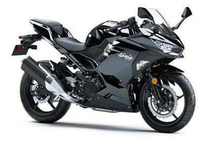 Ninja 400 - Preta - Kawasaki 0km - 2020 Consultor Alex