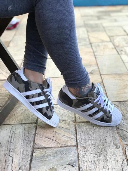 Tênis adidas Super Star Feminino Masculino Original Insta