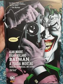 Hq Batman A Piada Mortal Ed. Especial De Luxo