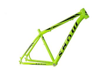 Quadro Show 29 Alumínio 6061 Mtb Verde Neon 17 19 Kawasaki