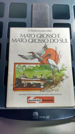 Manual Quatro Rodas Mato Grosso E Mato Grosso Do Sul 1979