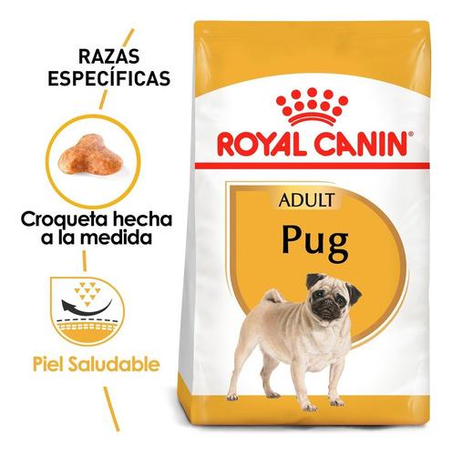 Imagen 1 de 4 de Alimento Para Perro Royal Canin Perro Pug 4.54 Kg