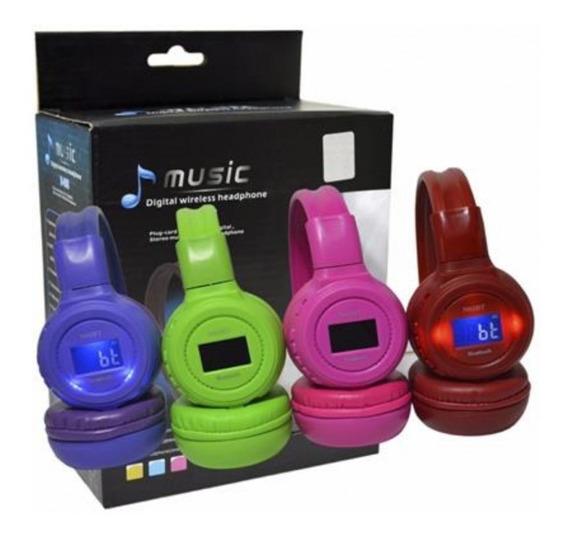 Audifonos Con Bluetooth+ Adaptador+ Memoria