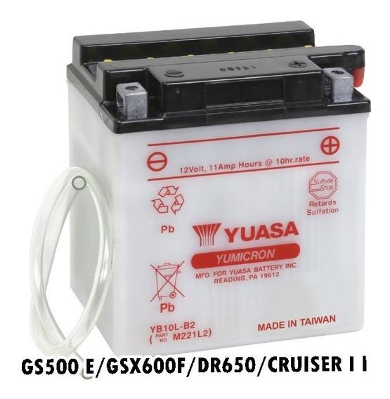 Bateria Yuasa Suzuki Gs 500e Original Yuasa Inmetro Yb10lb2