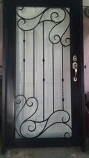 Puerta De Herrería Artesanal