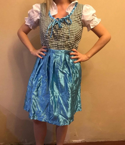 Vestido Oktoberfest Importado Exelente Calidad Y Detalles