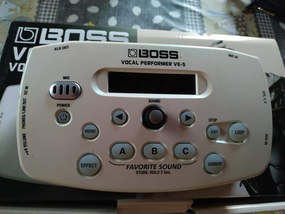 Vocal Performance Boss V5 Nova Na Caixa